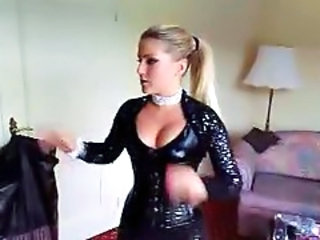 Amateur Girlfriend Homemade Latex