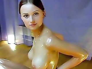 Cute Oiled Teen