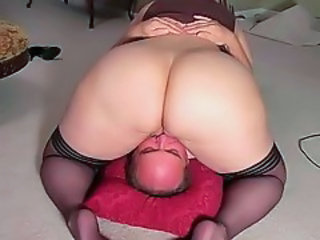 Ass BBW Facesitting Licking