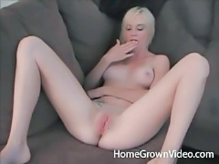 Amateur Blonde Masturbating Pussy Shaved Teen