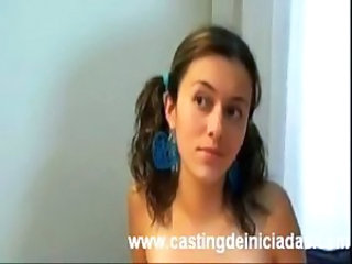 Casting Pigtail Teen