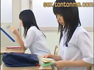 Asian Japanese Teen Twins