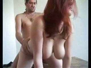 Amateur Big Tits Doggystyle Natural Redhead Wife