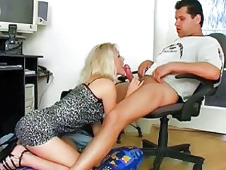 Amateur Blowjob Office Teen
