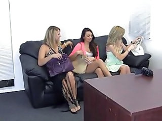 3 Girls casting couch