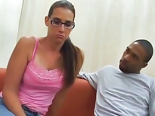 Brille Interrassisch MILF