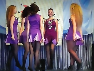 Dancing Legs Pantyhose Teen Uniform