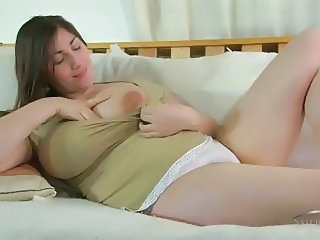 BBW Natural Panty Solo Teen