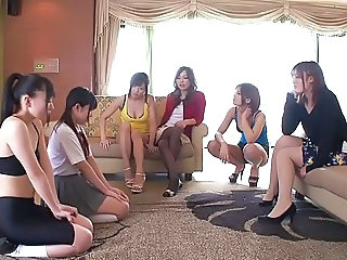 Asian Japanese Lesbian Party Teen