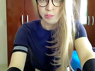 Cute Glasses Teen Webcam