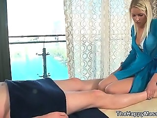 Blonde Massage Teen