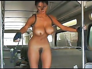 Big Tits Bus Fantasy MILF
