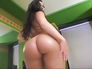 Amazing Ass Latina Long hair Pornstar