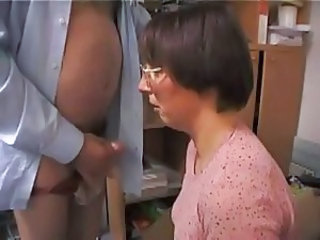 Amateur Blowjob European French Glasses Mature Wife
