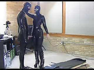 Fetish Latex Man