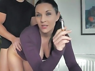 Doggystyle Girlfriend Smoking Webcam