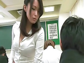 Asian Japanese MILF School Teacher