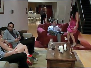Drunk Groupsex MILF Swingers Wife