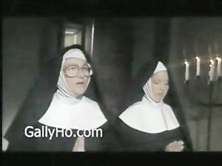 Glasses Nun Uniform