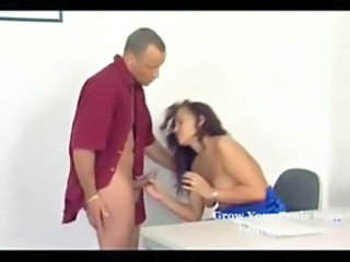 Handjob Office Teen