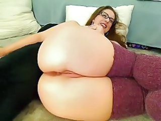 Ass Close up Glasses MILF Webcam
