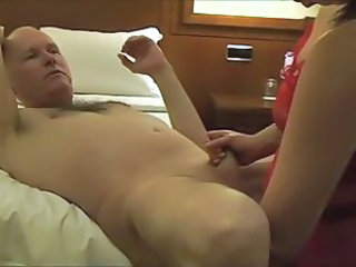 Amateur Daddy Handjob Homemade Small cock