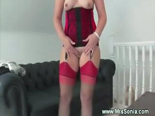 Mature lingerie fetish