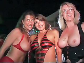 Bikini Fantasy Mature Public Threesome