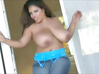 Big Tits Chubby Latina MILF Natural