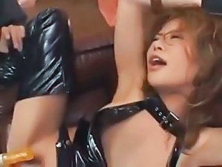 Asian Hardcore Japanese Latex MILF