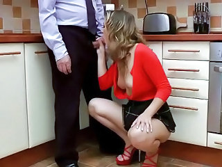 Young Woman Fingered By Old Man And Loves It