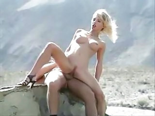 Cute Outdoor Riding Teen