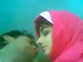 Amateur Arab Homemade Kissing