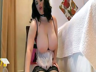 Big Tits Maid MILF Natural Uniform