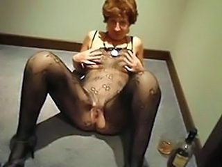 Drunk Granny Hairy Small Tits Stockings