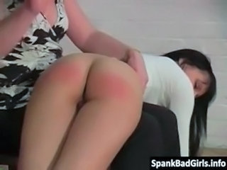 Hot milf spanks her step daughters free