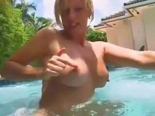 Big Tits European MILF Mom