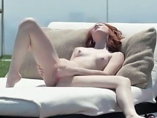 Cute Massage Redhead Small Tits Teen