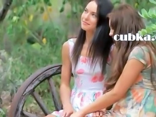 Anal Outdoor Teen Threesome