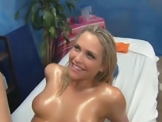 Cute Massage Oiled Russian Teen