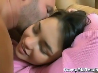 Cute Daddy Old and Young Teacher Teen