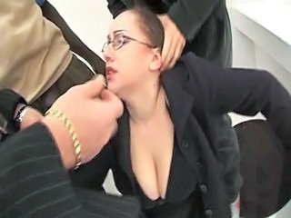 Clothed Cumshot Gangbang Glasses MILF Natural