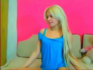 Long hair Russian Teen Webcam