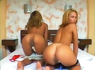 Ass Brazilian Latina Teen Threesome