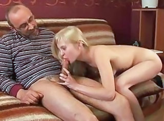 Blowjob Daddy Daughter Old and Young Teen Young