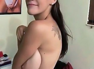 Big Tits Student Tattoo Young