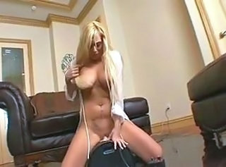 Blonde Machine MILF Solo