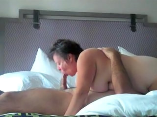 Amateur BBW Blowjob Homemade Mature Older Wife