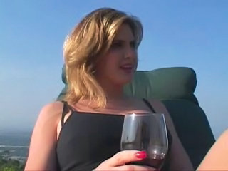 Drunk MILF Outdoor
