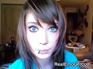 Amateur Girlfriend Goth Piercing Teen
